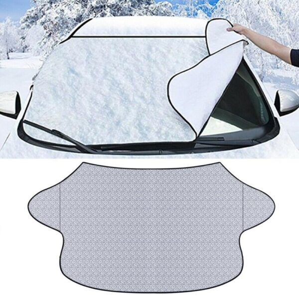 Car Cover Magnetic Windshield Cover Thicker Sun Shade Protection Cover Sun Blocker All Weather Winter Summer SUV Universal Car accessories