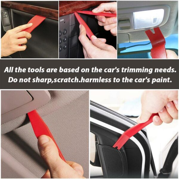 Car Installer Tool Kit Remover Set Hand Tool Kit Pry Remover Car Disassembly Tool Panel Door Remover Pry Kit Car Repair Tool Car accessories