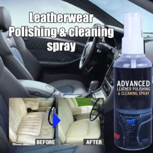Car Interior Cleaner Agent Roof Fabric Flannel Leather Seat Seat Cleaning Coating Wax Leather Spraying Cleaner Wax Car Poli H7Z1 Car accessories