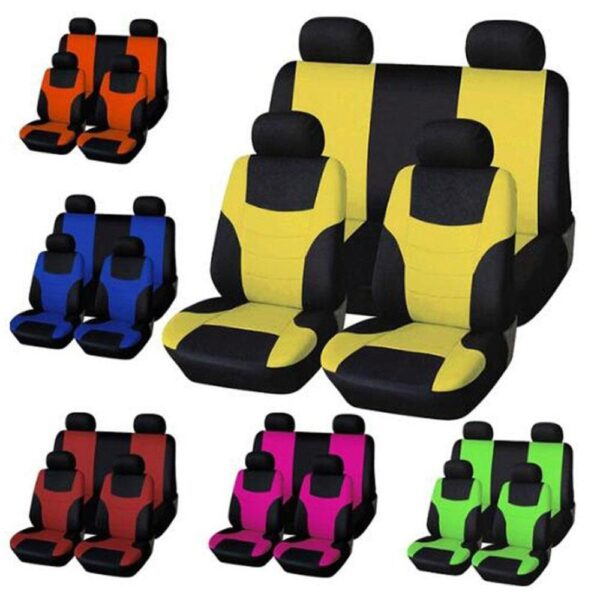 Car Seat Covers Interior Accessories Airbag Compatible AUTOYOUTH Seat Cover For Lada Red Blue Seat Protector Car accessories
