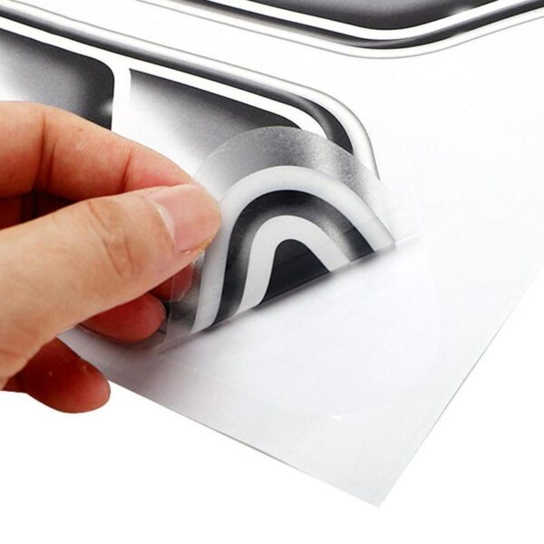 Car Styling 3D Fake Vents Decorative Outlet Side Vents Stickers Decals Emblem Symbol Creative Personalized Stickers Car accessories