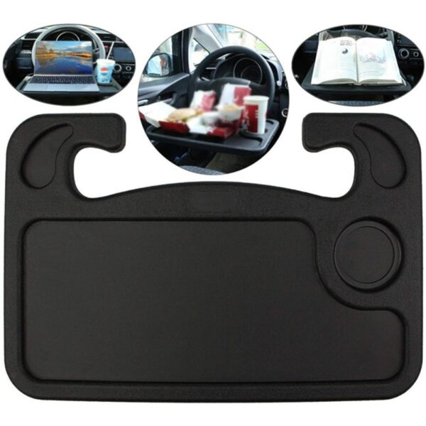 Car Table Steering Wheel Eat Work Cart Drink Food Coffee Goods Holder Tray Car Laptop Computer Desk Mount Stand Seat Table Car accessories