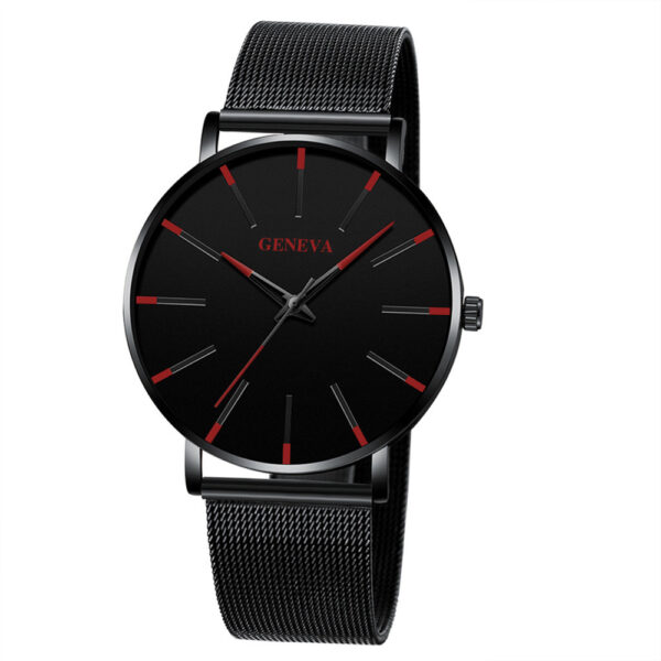 Casual Mens Watches Luxury Business Net With Color Pointer Colorful Scale Quartz-watch Men Military Sport Wristwatch Relogio Fashion Life & Accessories Iwatch & Accessories