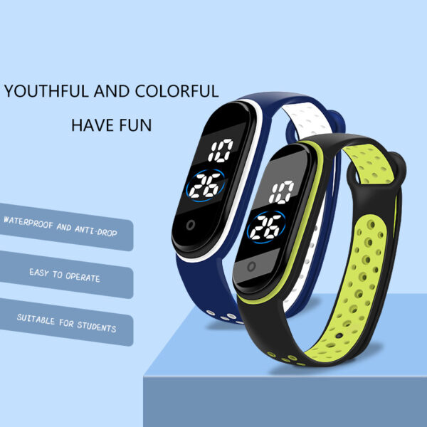 Digital Watch Bracelet for Men Women Sport Silicone Led Ladies Watch Detachable Waterproof Wristwatches New Outdoor Female Clock Fashion Life & Accessories Iwatch & Accessories