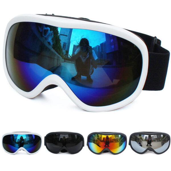 Double Lens Ski Goggles Anti-fog UV400 for Outdoor Sports Skiing Goggles Kids Adults Snow Snowboard Protective Glasses Eyewear Ski Shop