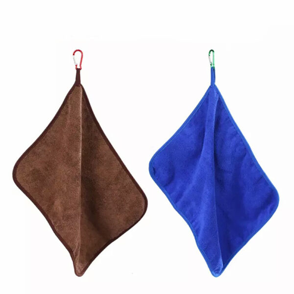Durable Swimming Towels Microfiber Fishing Clothing Towel Thickening Non-Stick Absorbent Wipe Hiking Climbing Hands Towel Swimming