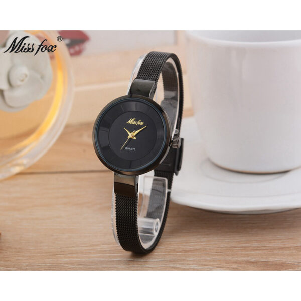Famous Luxury Brand Women Watches Simple Style Black Stainless Steel Ladies Wrist Watch Minimalist Female Casual Dress Clock New Fashion Life & Accessories Iwatch & Accessories