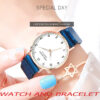 Famous New Brand Rose Gold Casual Quartz Watch Women Full Stainless Steel Mesh Exquisite Dress Ladies Watches Relogio Feminino Fashion Life & Accessories Iwatch & Accessories