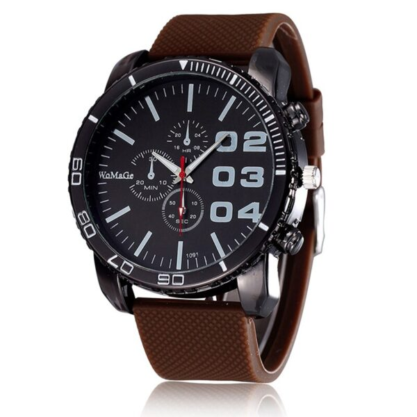 Fashion Large Dial Women Watches Casual Sport Analog Quartz Ladies Watch Stylish Silicone Band Woman Watch Retro Female Clock Fashion Life & Accessories Iwatch & Accessories