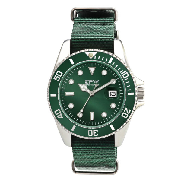 Fashion Mens Analog Quarts Watches Luxury Casual Clock Green Nylon Strap Fashion Life & Accessories Iwatch & Accessories