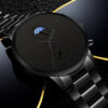 Fashion Mens Watches Luxury Men Business Casual Quartz Wrist Watch Classic Man Black Stainless Steel Analog Clock montre homme Fashion Life & Accessories Iwatch & Accessories