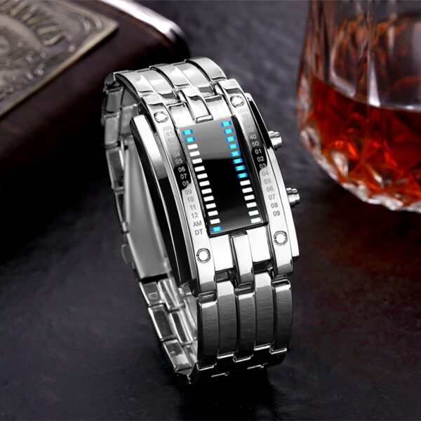 Fashion Outdoor Simple Sports Red Led Digital Bracelet Watch Men Women Colorful Silicone Watches Kids Children Wristwatch Gift Fashion Life & Accessories Iwatch & Accessories