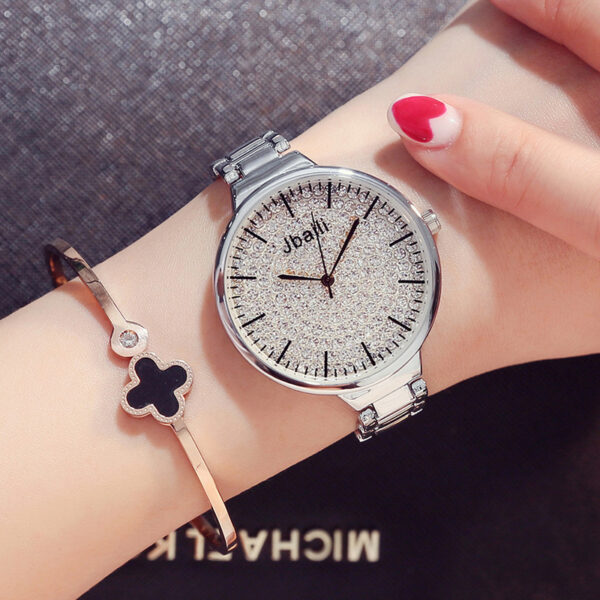 Fashion Rose Gold Women Watch Luxury Stainless Steel Crystal Woman Watch Ladies Casual Wrist Watch Female Dress Clock Hour #3TWL Fashion Life & Accessories Iwatch & Accessories