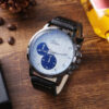Fashion Watch Men Gifts Set Top Quality Belt Large Dial Quartz Wrist Watch Folding Wallet Tie Cufflinks For Men Fathers Day Gift Fashion Life & Accessories Iwatch & Accessories