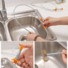 Flexible Long Reach Claw Pick Up Narrow Bend Curve Grabber Tool Spring Grip 85cm Sewer Picker Sink Multifunctional Cleaning Claw Swimming