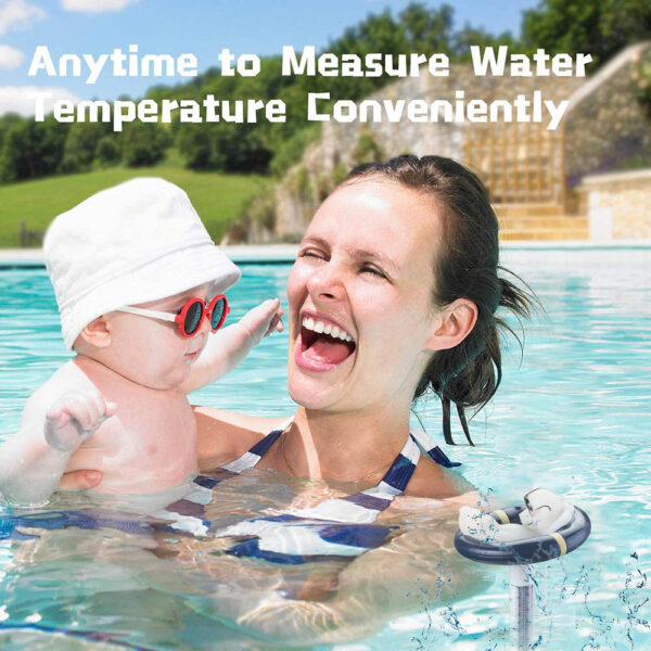 Floating Swimming Pool Thermometer Water Temperature Meter Tester Swim Spa Baby Bathing Hot Tub Float Thermometers Accessories Swimming