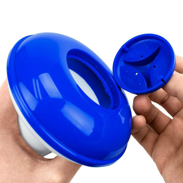 Floating Water Swimming Pool Accessories 5 Inch Chlorine Dispenser Float Deluxe Large Secure Swimming Gloves Chlorine Dispenser Swimming