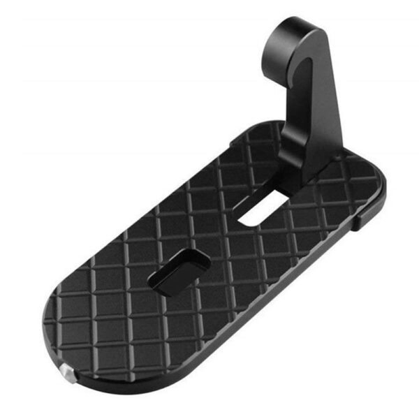 Foldable Car Door Step Pedal Universal Auto Rooftop Hooked Doorstep Foot Luggage Pegs Hammer With Ladder Safety Auto Parts Car accessories