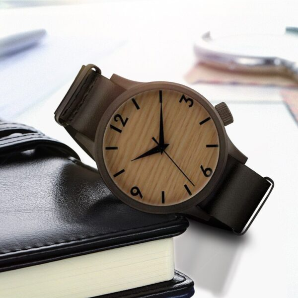 For Men Top Fashion Wooden Watch 2020 Mens Sports Clock Casual Wooden And Bamboo Wristwatch Montre Pour Homme Wristwatches Fashion Life & Accessories Iwatch & Accessories