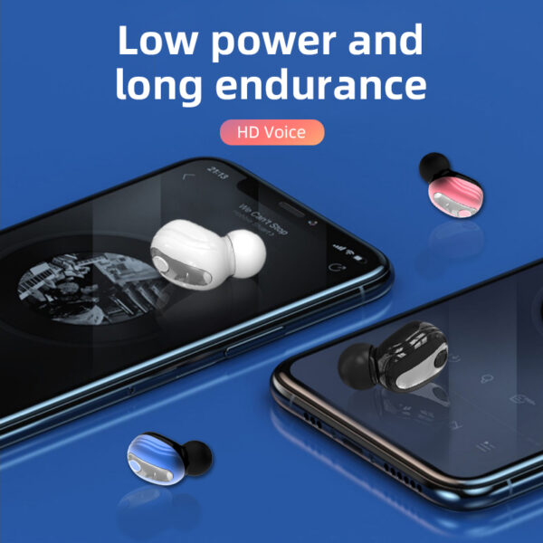 For S9 Wireless Bluetooth Earphone Headphones With Mic Handsfree Stereo Earbuds For Mobile Phones Mini 5.0 Sport Gaming Headset Earbuds