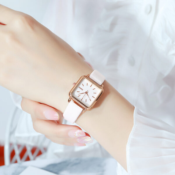 Gaiety Brand Fashion Women Watch Simple Square Leather Band Bracelet Ladies Watches Quartz Wristwatch Female Clock Dropshipping Fashion Life & Accessories Iwatch & Accessories