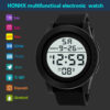 Honhx Mens Led Digital Display Watch Date Sport Women Outdoor Electronic Watch Minimalist Fashion Ultra Thin Watches Luxury Top Fashion Life & Accessories Iwatch & Accessories