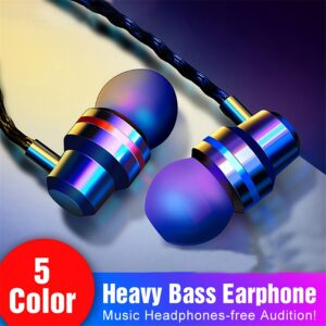 In-Ear Wired Earphone 3.5mm Earbuds Earphones Music Sport Gaming Headset With mic For IPhone 7 Xiaomi Samsung Huawei Stereo Bluetooth headphones