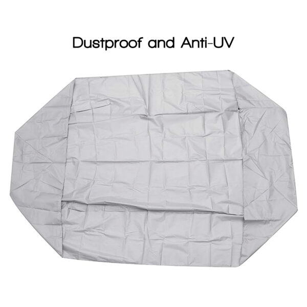 Inflatable Boat Cover Anti-UV Kayak Dust-Proof Protector Kayak UV-Resistant Sleeve Inflatable Boat Protective Case Dustproof Swimming