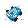 Inflatable Boat For Pool Pool Float For Kids With Built-In Water Gun Fashionable Patterns For Kids Swimming Pools Water Parks Swimming