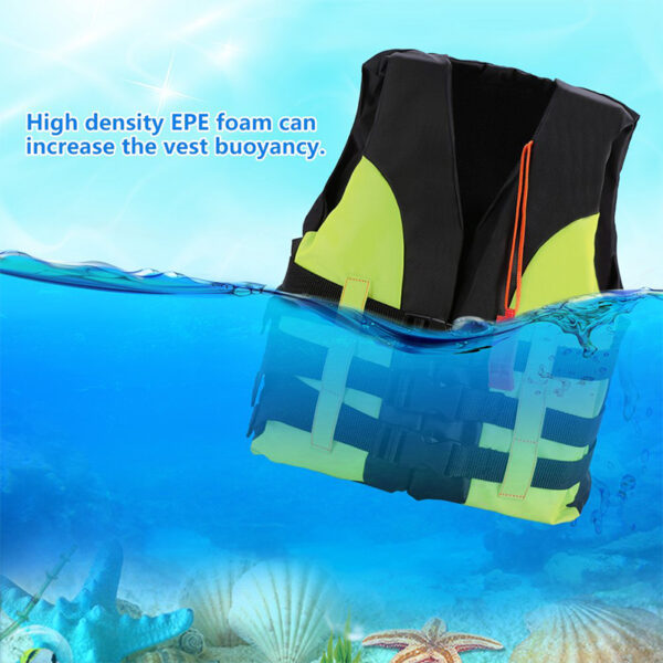 Life Vest New Child Life Vest Kids Boating Drifting Water-Skiing Safety Life Vest Swimwear With Survival For 2-12 Years Children Swimming