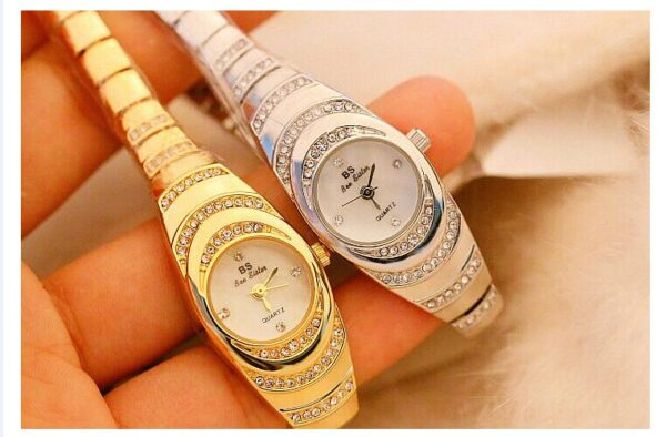Luxury Brand Dress Casual Quartz Small Dial Ladies Wrist Watches Rhinestone Rose Women Watches Gold Watches For Women 2020 2021 Fashion Life & Accessories Iwatch & Accessories