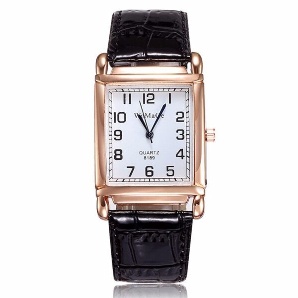 Luxury Rectangle Red Leather Watch Women Fashion Quartz Wrist Watches Top Brand Casual Dress Ladies Watch Clock Reloj Mujer 2019 Fashion Life & Accessories Iwatch & Accessories