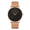 Luxury Rose Gold Stainless Steel Watches Women Men Fashion Classic Simple Watch Casual Business Wristwatch Clock Bayan Kol Saati Fashion Life & Accessories Iwatch & Accessories