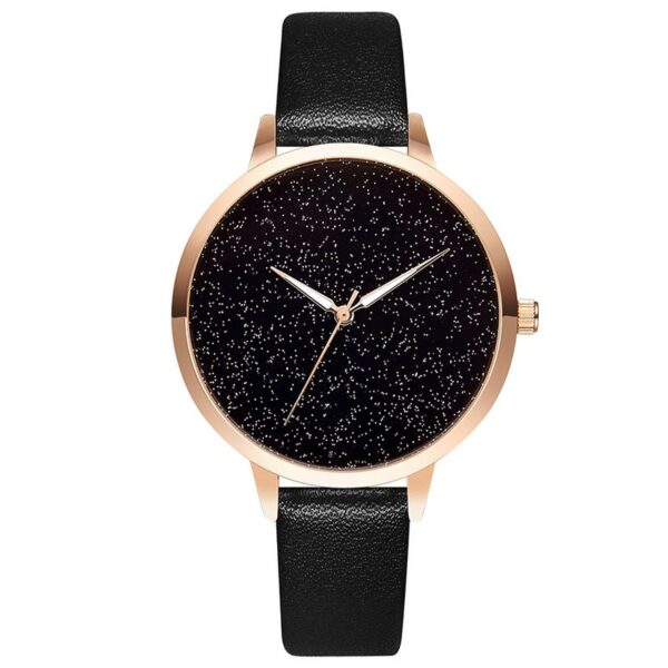 Luxury Rose Gold Starry Sky Watch Women Fashion Casual Leather Quartz Clock High Quality Wrist Watch For Women Reloj Mujer 2019 Fashion Life & Accessories Iwatch & Accessories