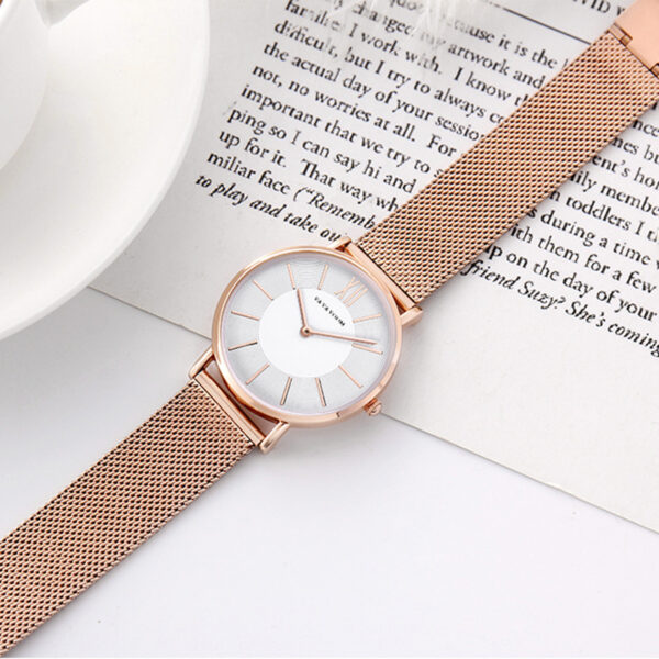 Luxury Rose Gold Wrist Watch For Women Fashion Stainless Steel Braceelt Watch Casual Simple Ladies Watch Reloj Mujer Clock 2019 Fashion Life & Accessories Iwatch & Accessories