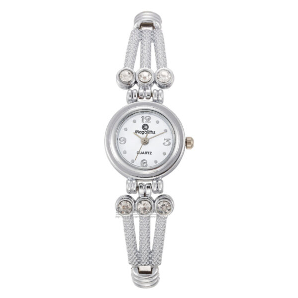Luxury Stainless Steel Silver Crystal Watches Women Fashion Small Quartz Watch Ladies Casual Wristwatch Clock Montre Femme #3TWF Fashion Life & Accessories Iwatch & Accessories