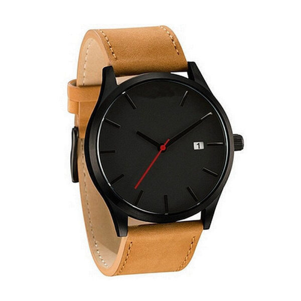 Luxury Watch Men Leather Ultra-thin Stainless Steel Black Bracelet Wristwatches Male Watch Clock Reloj Hombre Relogio Masculino Fashion Life & Accessories Iwatch & Accessories