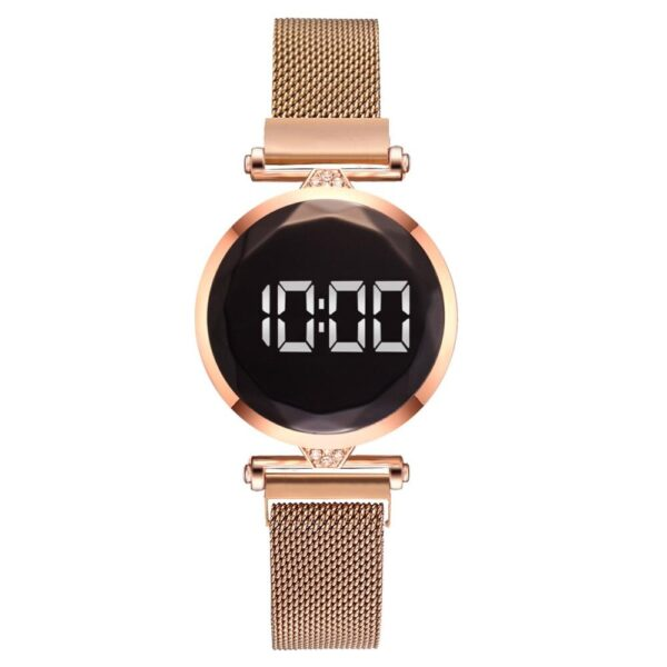 Luxury Watch Women Led Watch Mesh Magnet Watches Top Brand Personality New Design Female Wristwatches Clock Relogio Feminino Fashion Life & Accessories Iwatch & Accessories