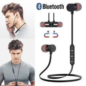 Magnetic Wireless 5.0 Bluetooth Earphone Music Headset Phone Neckband Sport Earbuds Earphone With Mic For iPhone Samsung Xiaomi Bluetooth headphones