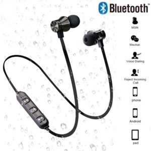 Magnetic Wireless bluetooth Earphone Music Headset Phone Neckband Sport Earbuds Earphone With Mic For iPhone 7 Samsung Xiaomi Bluetooth headphones