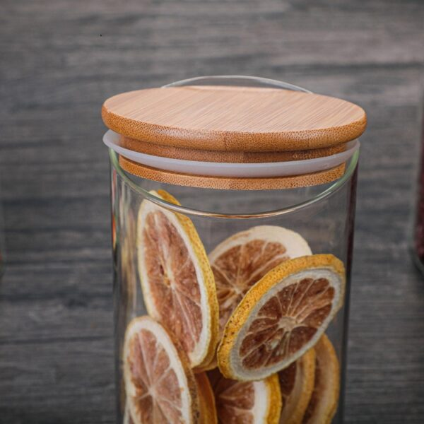 Mason Candy Jar For Spices Glass Transparent Container Glass Jars With Lids Cookie Jar Kitchen Jars And Lids Small Size Wholesal Kitchen