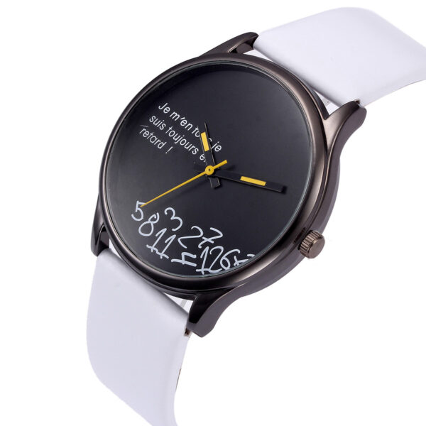 Men Fashion Design Leather Retro Design Leather Band Analog Alloy Quartz Wrist Round Simple Stainless Steel Case Watch Gift Fashion Life & Accessories Iwatch & Accessories