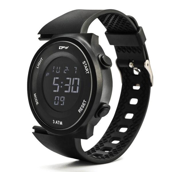 Men Sports Digital Watches Replacable Strap Stopwatch Alarm Chrono Waterproof Unisex Fashion Life & Accessories Iwatch & Accessories