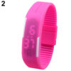 Men Women Silicone Red LED Sports Bracelet Touch Watch Digital Wrist Watch 2018 Military Electronics Watch dropshipping Relojes Fashion Life & Accessories Iwatch & Accessories