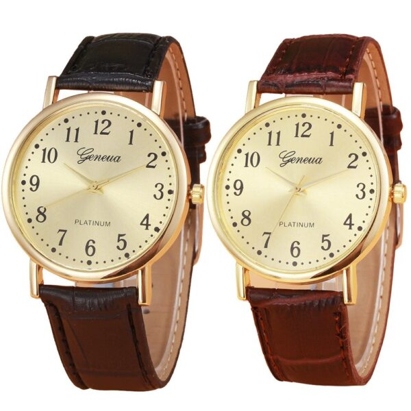 Mens Business Watch Retro Design Leather Band Analog Alloy Quartz Wrist Watch Casual Mens Watches Top Brand Luxury Sport Watches Fashion Life & Accessories Iwatch & Accessories