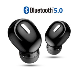 Mini Wireless Bluetooth Earphone V5.0 Stereo in-ear Headset with Mic Sports Running Earbuds Earphones for Samsung Huawei Xiaomi Bluetooth headphones