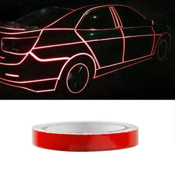 Mountain Bike Reflective Stickers Car Reflective Strips Fluorescent Strips Luminous Reflectors Motorcycle Stickers Decoration Car accessories