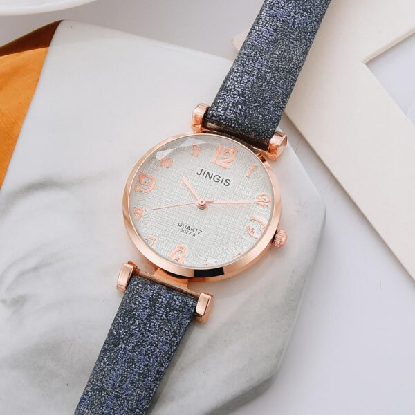 NEW Fashion Watch Women Casual Leather Belt Watches Simple Ladies' Big Dial Sport Quartz Clock Dress Wristwatches Reloj Mujer Fashion Life & Accessories Iwatch & Accessories
