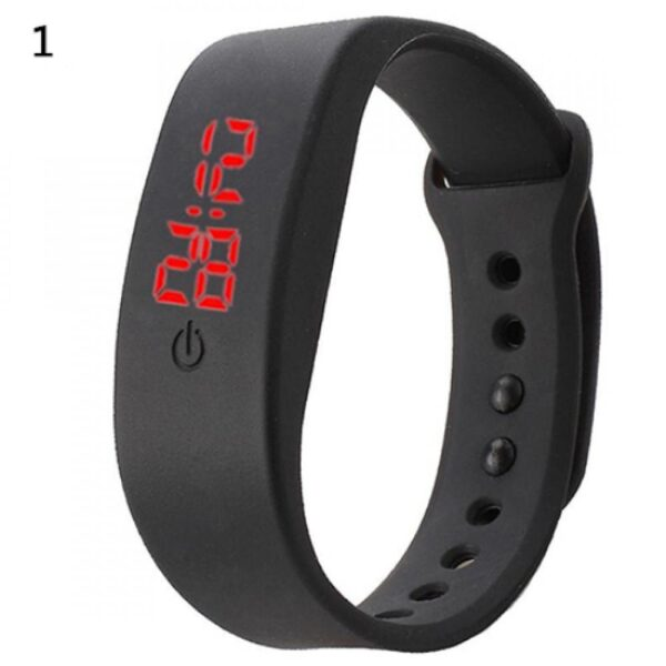 New Arrival Women Men Silicone Band Strap Digital LED Display Bracelet Wrist Sports Watch Wholesale Dropshipping Fashion Life & Accessories Iwatch & Accessories