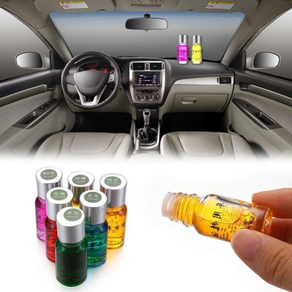 New Car Perfume Replenisher Plant Essential Oil Natural Air Freshener Car Outlet Perfume Replenishment Fragrance 10ml Car accessories